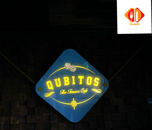 qubitos restaurant in delhi review