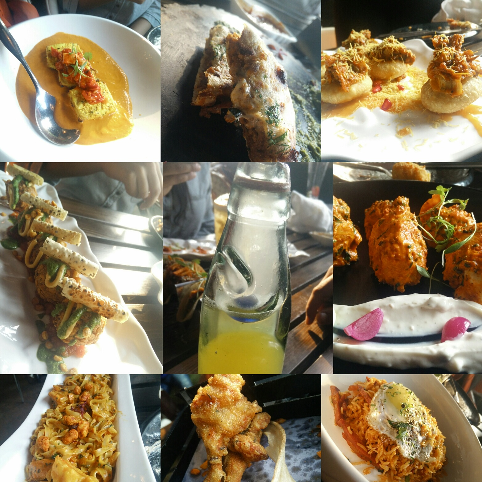 review: farzi cafe in cp