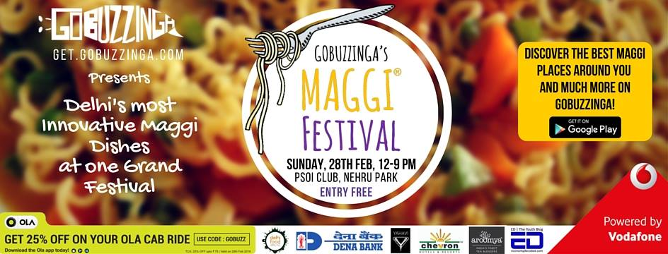 Maggi Festival Delhi