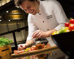 Chef Luigi Ferraro Sorrento Shangri-La Eros Hotel New Delhi