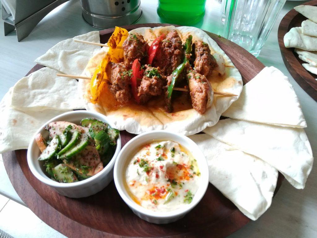 best lebanese food in Gurgaon